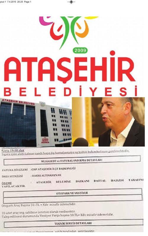 Ataşehir'de skandal