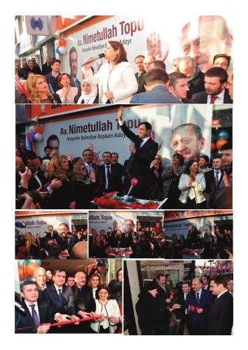 Ataşehir Ak Parti SKM' Coşkuyla Açıldı