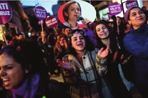 CHP İstanbul'dan 'kadına yönelik şiddete son' videosu