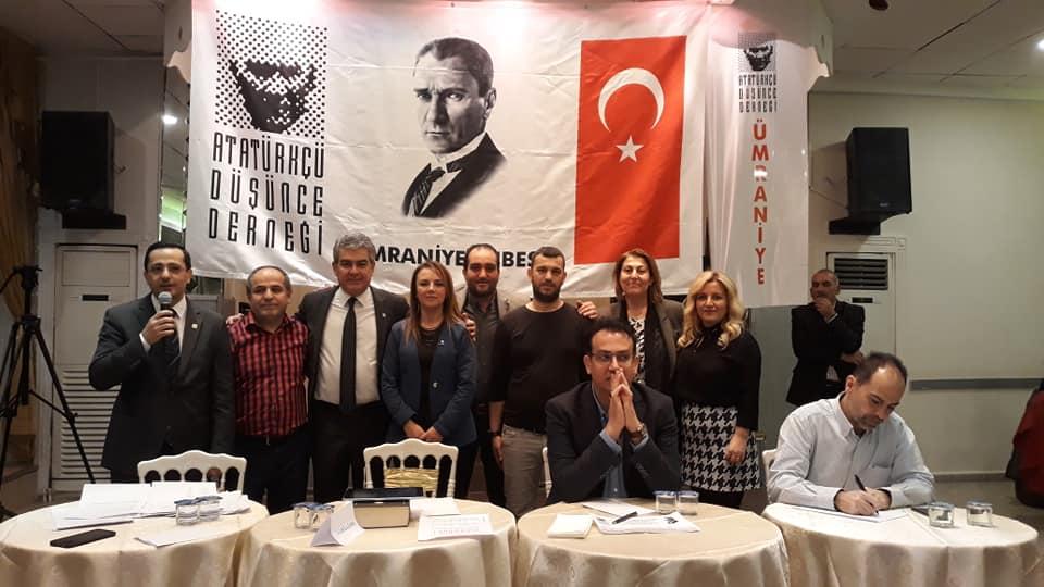 Atatürkçü Düşünce Derneği Ümraniye Şubesi Yeni Açılışını Yapıtı.