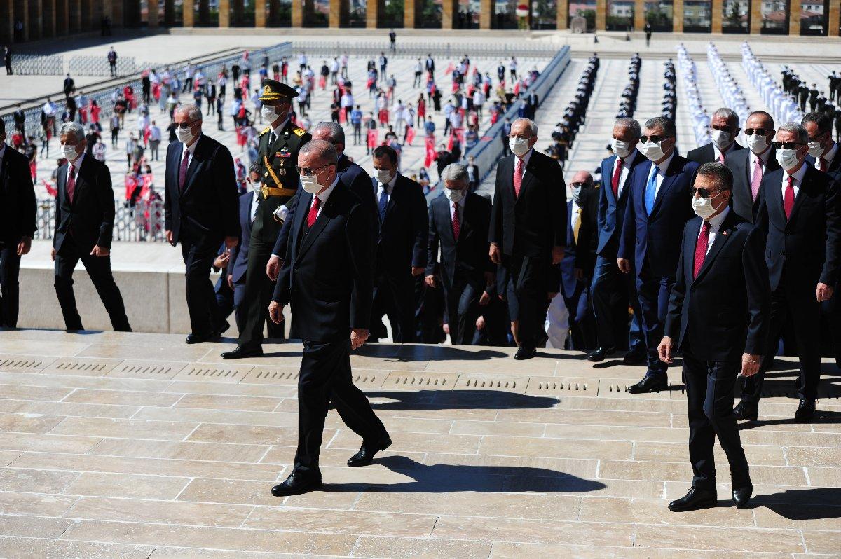 Anıtkabir'de Atatürk'e büyük saygısızlık