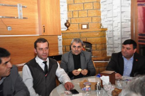 Ak Parti Belediye Başkan Adayları İstanbul Artvinliler Dernekler Federasyonu'nu Ziyaret Etti
